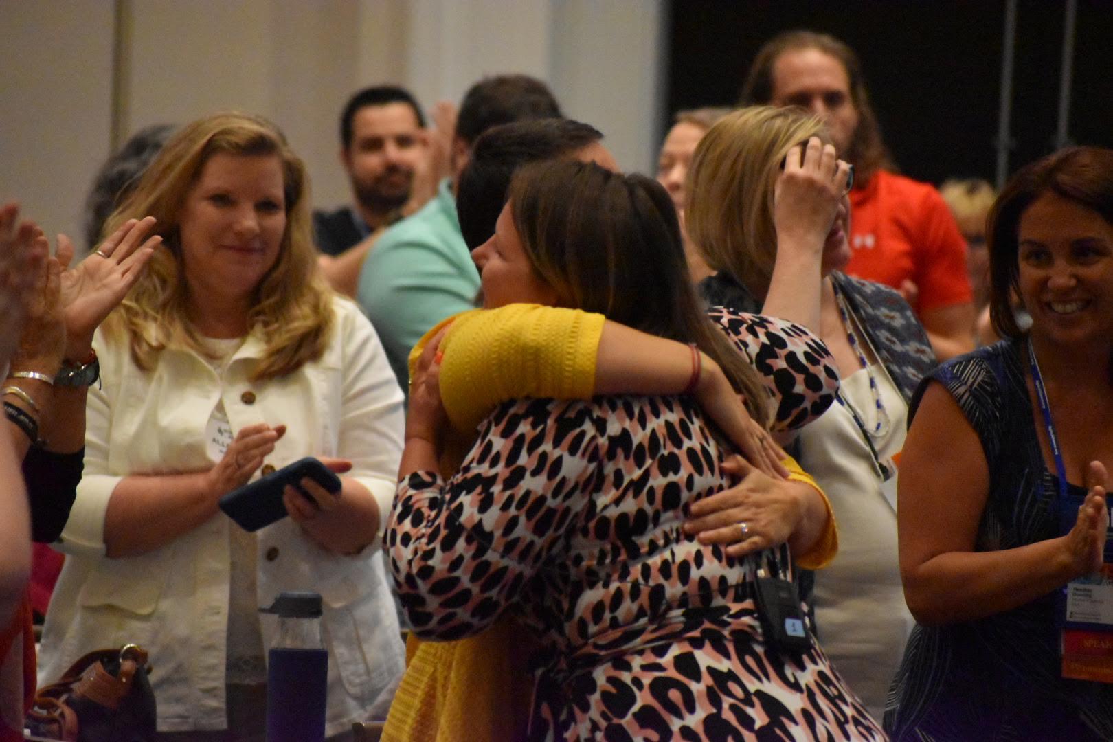 Women embracing WiA Agile2019