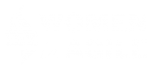 Women in Agile Logo White