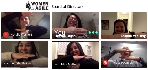 International Womens day Board Photo