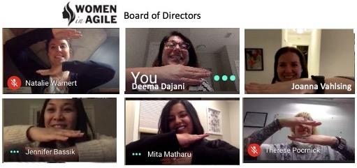International Womens day Board Photo